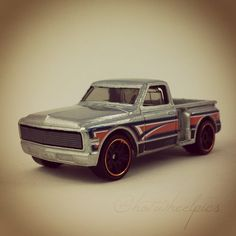 #161 - Custom '69 Chevy Pickup - 2013 Hot Wheels - HW Showroom - Hot Trucks - ZAMAC - WALMART