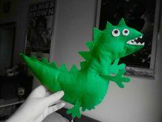 felt mr dinosaur ( peppa pig )