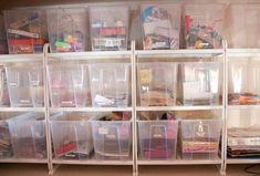 Bastelzimmer organisieren: Welche IKEA Boxen, Einsätze und Regalsysteme eignen…