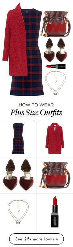"""Plaid Dress"" by cherieaustin on Polyvore featuring 10 Crosby Derek Lam, Lanvin, Marni and Smashbox"