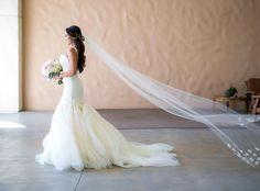 Lauren Elaine Bridal - Lauren Elaine Aurelia Gown with Veil