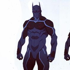 Cleaning up my desktop I found this unused sketch of Heretic from Batman: Bad…