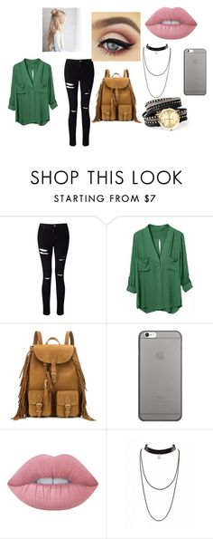 """""""#2"""" by brifines on Polyvore featuring moda, Miss Selfridge, Yves Saint Laurent, Native Union y Lime Crime"""