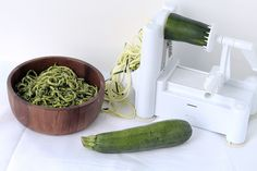 First Off: The Spiralizer | 25 Healthy Meals You Can Make With A Spiralizer #zucchininoodles #zucchinipasta
