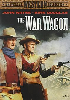 John Wayne & Kirk Douglas & Burt Kennedy-The War Wagon John Wayne Quotes, John Wayne Movies, Old Movies, Great Movies, Joanna Barnes, Iowa, Robert Walker, Capas Dvd, Kirk Douglas