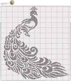 Филейное вязание крючком.