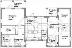 Specialhus 182 m2.
