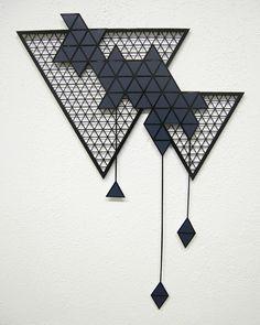 Sandra Fettingis Expresses Relationships Via Bold Geometry #sculpture