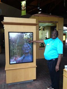 #Georgia Visitor Info. Specialist James Crawford was featured in the Augusta Chronicle!