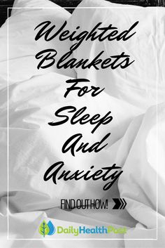 A good night's sleep doesn't just depend on where you lie down; It's also about what you lie under.  Recent research has shown that the type of blanket you use at night can affect your quality of sleep. In fact, heavier blankets have shown time and again to provide more deep, peaceful sleep.Weighted Blankets For Sleep And Anxiety: You'll Definitely Want To Try This!