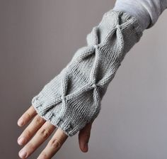 Adorable arm warmers!