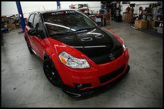 suzuki sx4 #sx4 #black&red #fromthefront