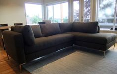 """Couch"": great-looking modern couches, showroom in Ballard, custom but not too ridiculously expensive, made in LA!  Next couch is coming from here!"