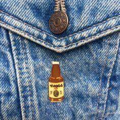Vintage Coors Bottle Pin