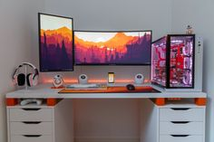 yujhkokhgtrg - 0 results for pc gaming setup Computer Desk Setup, Gaming Room Setup, Pc Setup, White Desk Setup, Ikea Gaming Desk, Custom Gaming Desk, Computer Gaming Room, Best Gaming Setup, Gaming Rooms