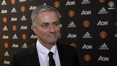 Jose Mourinho's first interview as Manchester United manager.