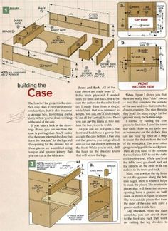 #820 Carving Table Plans   Wood Carving Patterns And Techniques