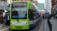Trams run in parts of South London between Wimbledon, Croydon and Beckenham. The services are frequent and accessible