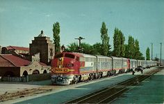 Santa Fe Railroad Station, Albuquerque, New Mexico