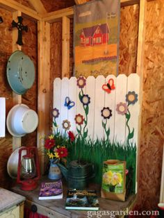 A Teacher's Dream Garden Shed