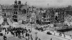 Aftermath of the 1916 Rising, Dublin Old Images, Old Photos, Free Images, Ireland 1916, Irish Independence, General Post Office, Easter Rising, Dublin City, Republic Of Ireland
