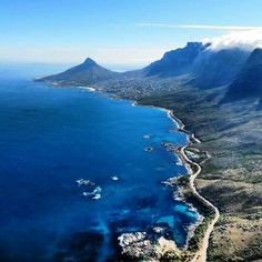 The bluest bay, Cape Town South Africa