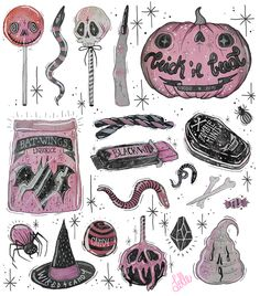 This is mostly witchy stuff. I'm also into Gothic, creepy, vintage, witchy, photos. Soirée Halloween, Halloween Tattoo, Halloween Drawings, Design Tattoo, Desenho Tattoo, Witch Art, Witch Aesthetic, Arte Horror, Creepy Cute