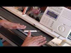 Велле-джерси и репс с разбором игл. Уроки и секреты машинного вязания. - YouTube