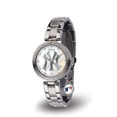New York Yankees MLB Charm Series Women's Watch