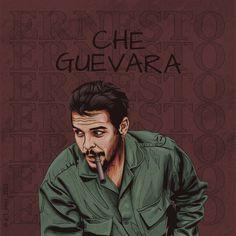 Vector Illustrations, Vector Art, Ernesto Che, Cuban, Che Guevara, Deviantart, Frame, Nature, Movie Posters