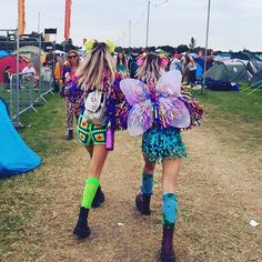 Another snap of babes @ttigerlilly and @lulutrixabelle in their matching Monster jackets  #secretgardenparty