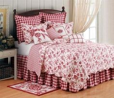 French country bedding~