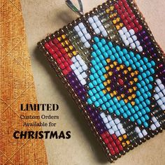 Give the gift of wearable art. My schedule is limited for custom orders for Christmas delivery. Please message me if you would like to be on my list. #tintepee #kindaclassykindarez #wearableart #customorder #customjewelry #oneofakind #nativeart #nativemade #loombeading #nativemade #nativebeadwork #pnw #turquoise #spokane #bohochic #bohemianstyle #cowgirlstyle #westernfashion #westernstyle #rodeofashion #nfrfashion #nfr2017 #momboss #bossbabe #supportlocalartists #supportsmallbusiness #wahm #s... Bead Loom Patterns, Tribal Patterns, Peyote Patterns, Beading Patterns, Beading Ideas, Seed Bead Necklace, Seed Bead Jewelry, Bead Jewellery, Diy Gifts For Friends