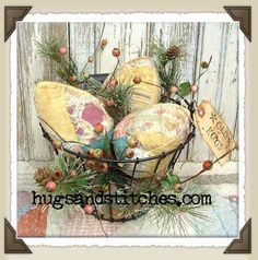 easter Primitive Country Decorating Ideas   Country and Primitive Easter and Spring Home Decor Items at ...   Cra ...