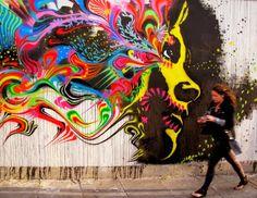 Street Art by Stinkfish  #Colombian  #street  #artist