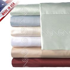 #cool Bedding at Kohl's - Shop our wide #selection of bedding accessories, including this Veratex American Collection 500-Thread Count Egyptian #Cotton Swirl Shee...