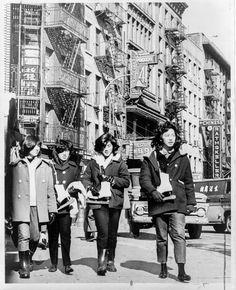 New York. Mott Street, April 27, 1965.