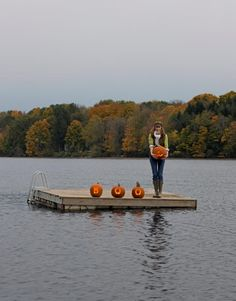 At Tereasa Surratt and David Hernandez's restored Wisconsin retreat, hayrides, bonfires, and scary movies make up the magic ingredients for a weekend to remember.  Tour the retreat.