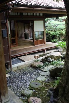 Another view of the Nomura garden and house