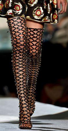 Milan Spring 2015 - Dsquared² (Details). #fashion