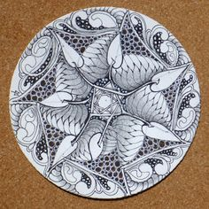 Zentangle: Round and Round