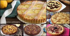 Tante ricette di crostate e sbriciolate facili da preparare..tutte golosissime!..con frutta, marmellata, crema, cioccolato..ce n'è per tutti i gusti!