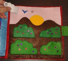 paisaje con animales Kids Rugs, Book, Home Decor, Hand Sewing, Felt, Blue Prints, Homemade Home Decor, Kid Friendly Rugs, Books
