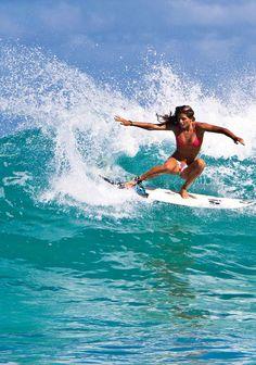 Surfer Girl, gotta love it. Now she is inspyring to all.