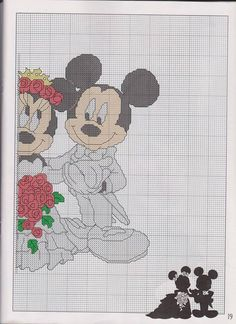 Wedding Mickey & Minnie 2 of 2