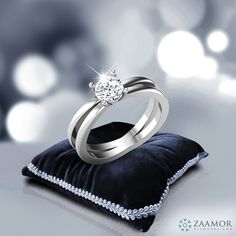 Bethina 4 Prong Solitaire Ring  #ZaamorDiamonds #SolitaireRings #SolitaireJewellery