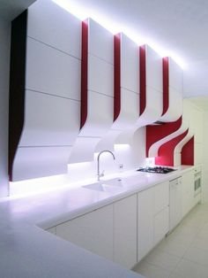 Contemporary kitchen design/Inside2013 Competition Winner. Homesandlifestylemedia.com #design #architecture #kitchen