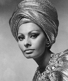 Timeless elegance  sophia-loren-1960s-turban-style-fashion.jpg (338×400)
