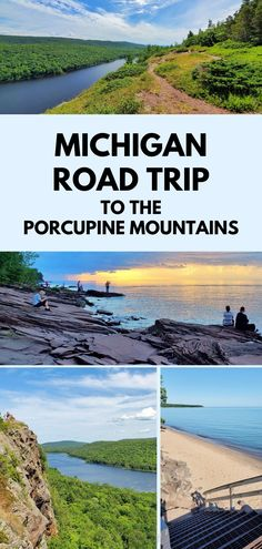 michigan road trip to great lakes. best places to visit in the midwest. hiking trail and beach. state parks. hiking, camping, campground, backpacking. backcountry. us outdoor travel destinations. vacation spots, ideas, places in the US. michigan things to do upper peninsula up north. US outdoor vacation road trip midwest from wisconsin, chicago, minnesota, illinois, indiana, ohio
