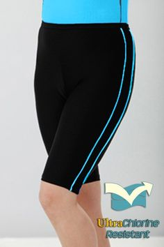 Chlorine Proof Shorts $52. Perfect for water aerobic classes - won't fade or stretch with frequent wear in the pool.
